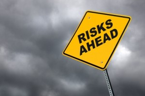 Warning Sign - Risks Ahead
